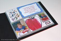 A Vegas Girl at Heart: Children's Art Scrapbook/Project Life Mini Album