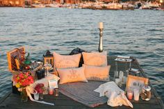 Beautiful Setting for a Romantic Proposal by Kaleb Norman James Design   10-Romantic-Outdoor-Settings and Stuff - Tinyme Blog