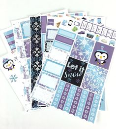 Hey, I found this really awesome Etsy listing at https://www.etsy.com/listing/483835603/winter-planner-stickers-let-it-snow
