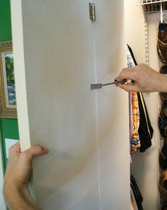 Converting a Bi-Fold Door