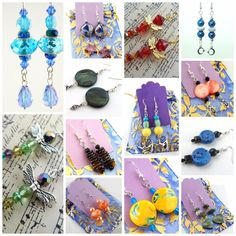 Mixed Lot Earrings Pick Quantity From 10 pairs to 1000 Assorted Colors Styles #handmade #assorted