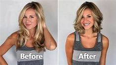 Before And After Hair Makeovers On Women Over 50 Yahoo Image Search Results Long To Short Hair Hair Makeover Before And After Haircut