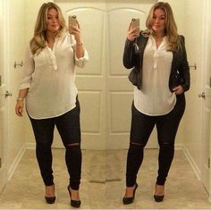 laura lee plus size model – Plus Size Models Curvy Outfits, Mode Outfits, Plus Size Outfits, Casual Outfits, Fashion Outfits, Fashion Trends, Plus Size Going Out Outfits, Plus Size Winter Outfits, Casual Jeans