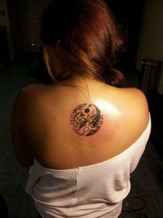 Top Yin Yang Tattoo Designs (4)
