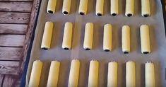 Prudce návykové trubičky s karamelovým krémem: Tento recept se u nás v rodině dědí, nejlepší vánoční pamlsek! - Strana 2 z 2 - teks.cz Rodin, Candles, Humor, Blog, Basket, Humour, Candy, Jokes, Candle