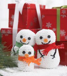Crochet Snowman Family: Seasonal Projects: Winter: Shop | Joann.com