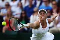 6/30/14 #16-Seed Caroline Wozniacki Upset By Barbora Zahlavova Strycova 6-2, 7-5 In The 3rd Rd At The Championships, Wimbledon.