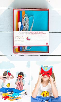DIY Hero Kit from Pottery Barn Kids #HandmadeCharlottexPBK