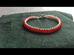Dört Kristalli Nazo Bileklik - YouTube Beaded Cuff Bracelet, Chakra Bracelet, Seed Bead Bracelets, Adjustable Bracelet, Bangle Bracelets, Beading Techniques, Healing Bracelets, Jewelry Making Tutorials, Colorful Bracelets