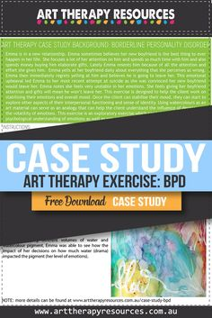 Art therapy benefits clients because of it's ability to bypass a verbal focus on therapy and focus attention to emotional experiences and expression. Art Therapy Benefits, Creative Arts Therapy, How To Control Anger, Antisocial Personality, Art Therapy Projects, Science Education, Social Science, Interpersonal Relationship, Borderline Personality Disorder