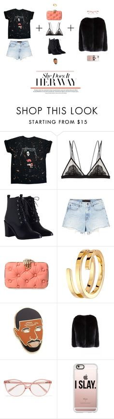 """r e b e l"" by erikakris ❤ liked on Polyvore featuring Cosabella, Zimmermann, Alexander Wang, Benedetta Bruzziches, Dinh Van, Georgia Perry, Prism and Casetify"