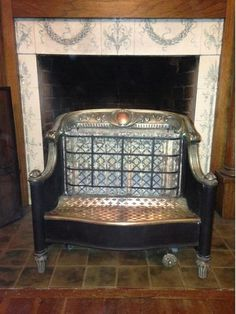 My grandmother, LeeOtta Eason Wilder had a heater like this in the fireplace in her living room.