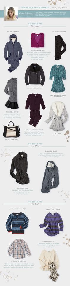 i picked some of my favorite pieces from Splendid as part of their holiday gift guide.