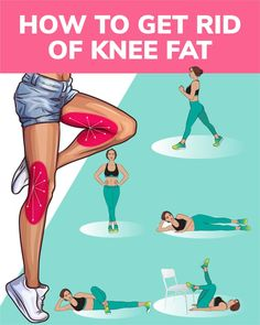 Want to have sexy slim legs, try the workout below! The exercises will help to get rid of knee fat and make your legs look fabulous! Try and enjoy the results! musculation How to Get Rid of Knee Fat Fitness Workouts, Yoga Fitness, Fitness Motivation, Fitness Workout For Women, Sport Fitness, Easy Workouts, Fitness Goals, At Home Workouts, Sport Motivation