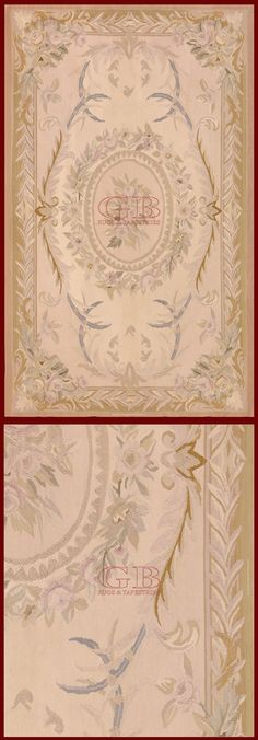 Aubusson Carpetcm 154 x 95ft 5'1 x 3'1 Cod:: 141501258434