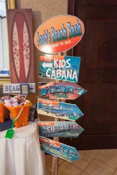 This would be a great addition to the beach-themed Mitzvah or wedding event