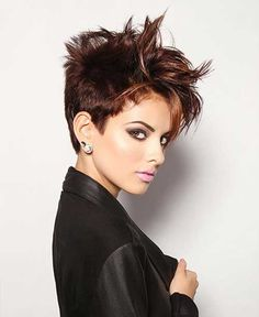 Short Cropped Hair Styles