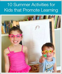 10 Fun Summer Activities for Kids that Promote Learning - Buggy and Buddy