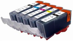 Your #inkjet #cartridge is printing low quality with lines or streaks on the page because mostly inkjet cartridges do not have print-heads on the cartridge such as #Brother and #Epson.
