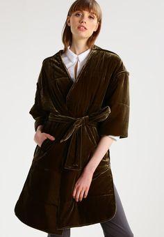 By Malene Birger VALOURIE - Wollmantel/klassischer Mantel - hunter - Zalando. Malene Birger, Fall, Fashion, Dress, Classic, Mantle, Jacket, Winter Cloak, Autumn
