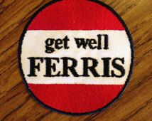 get well Ferris 3.25in. Sew-on patch