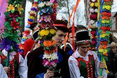 Palm Sunday in Poland Polish Government, Polish People, Polish Easter, Poland Travel, Holidays Around The World, Palm Sunday, Holy Week, My Heritage, Folk Art