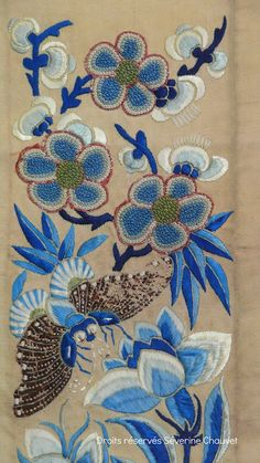 Old Chinese embroidery