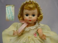 MADAME ALEXANDER-kins 1950's BKW  Wendy DOLL Tagged Outfit SWEETHEART