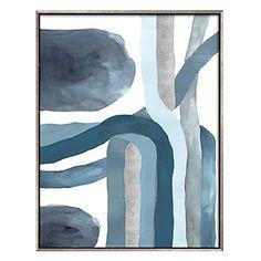 Blue Crossing 1 | Series | Art | Z Gallerie  |  40.75''W x 52.75''H