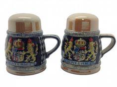 Engraved Beer Stein: Bayern Salt and Pepper - GermanGiftOutlet.com  - 1