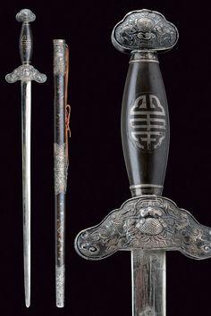 A Jian (sword), China, ca. 1900.