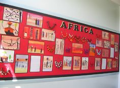 African Art Classroom Display Photo - SparkleBox