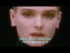 Sinead O connor Nothing compares to you (sub esp)