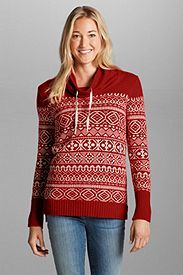 Women's Geo Jacquard Pullover Sweater