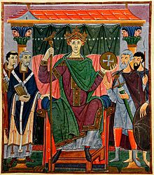 Otto III and the The Phantom time hypothesis.  This  a theory which proposes that there has been a systematic effort to make it appear that periods of history, specifically that of Europe during the Early Middle Ages (AD 614–911) exist, when they do not.  This was achieved through the forgery of documentary and physical evidence. The entire Carolingian period is a forgery of medieval chroniclers, more precisely a conspiracy instigated by Otto III and this is really the year 1717.