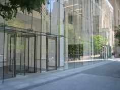 Set on one of downtown Boston's most beloved parks, CBT's entrance redesign capitalizes on the . Wall Exterior, Building Exterior, Pilkington Glass, Glass Structure, Glass Room, Glass Facades, Interesting Buildings, Thesis, Clear Glass