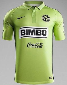 1b58bc1a0 NIKE CLUB AMERICA AUTHENTIC MATCH THIRD JERSEY 2014 15 MEXICO Atomic Green  Mexican Soccer League