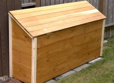 diy outdoor storage box plans