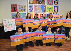 Wine And Design Has Fantastic Birthday Parties For Kids Who Like To Paint Best