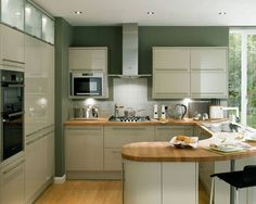 I like the design for a small kitchen