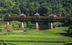 CHENGYANG BRIDGE, CHINA Chengyang Bridge, Sanjiang County, China