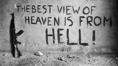 """the best view of heaven is from hell"" this quote states that people sent to heaven are best viewed from people damned to hell which i think is relevant to Macbeth, characters who are meant for hell envy those who are going to heaven the most Pop Art Illustration, Heaven And Hell, Metal Gear Solid, Quote Prints, Nice View, Live Life, Inspire Me, Quotations, Qoutes"