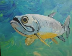 Tarpon painting SOLD