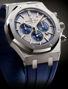 "Master Horologer: Audemars Piguet Royal Oak Chronograph ""Italy Limited Edition"""