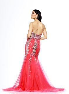 Sparking Sweetheart Mermaid Beading Zipper-up Long Evening/Pageant Dress