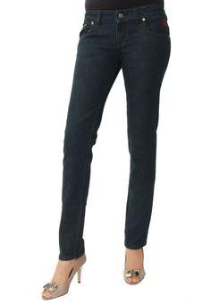 Dark Wash Basic Skinny Jeans