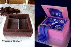 How to make a Jewellery Box cake by ~Verusca on deviantART