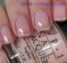 """My BEST ever natural color """"You calling me a lyre"""" from the OPI NYC Ballet Soft Shades Collection Spring 2012"""