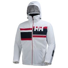 ALBY JACKET Based on our popular and proven design of the Salt Jacket, this bold and colorful design features the Helly Hansen Marine Stripe.Double click to zoom in