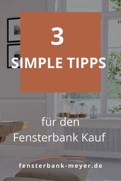 Was Du bei dem Kauf einer Fensterbank Holz beachten kannst und wie Du ganz einfach und schnell Die perfekte Fensterbank für Innen aus Holz findest, erfährst Du in diesem Blogbeitrag. Window Frames, Types Of Wood, Design For Home, Remodels, Oak Tree